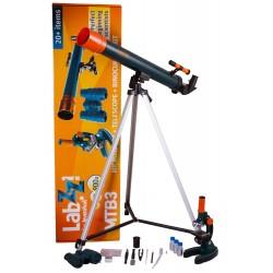 Zestaw Levenhuk LabZZ MTB3 - mikroskop, teleskop i lornetka