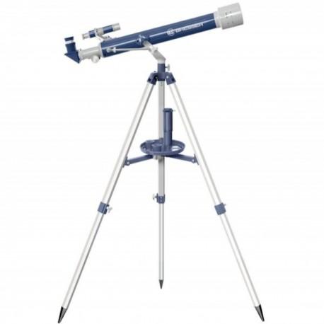 Teleskop Bresser JUNIOR 60/700 w walizce (szaro/niebieski)