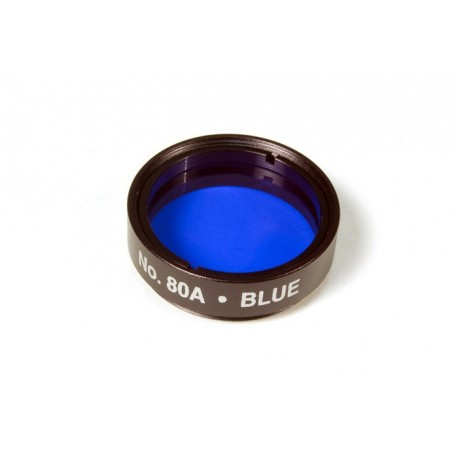 """Filtr optyczny 80A (niebieski) 1,25"""" Levenhuk"""